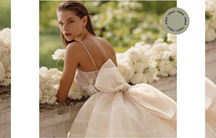 early bride sale, сватбена рокля, булчинска рокля, булчински рокли, сватбени рокли, булчински рокли с ръкави, булченски рокли, булчински рокли с дантела, булчински рокли с гол гръб, обемни булчински рокли, булчински рокли принцеса, цветни булчински рокли, евтини булчински рокли, бели булчински рокли, булчински рокли 2020, сватбени рокли 2020, колекции 2020, сватбени рокли софия, булчински рокли софия, сватбени рокли цени, булчински рокли цени, best friday sale, trunk show, нова колекция, лятно намаление, голямото лятно намаление